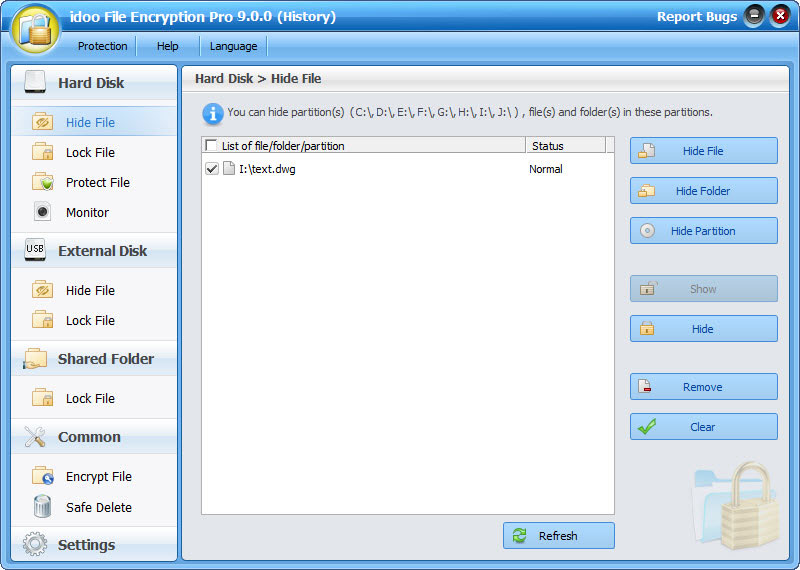 idoo File Encryption Pro screenshot