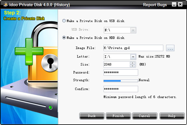 SD card encryption software