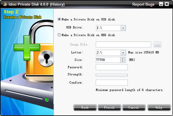 private disk encryption