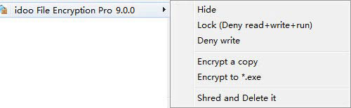 quickly encrypt files